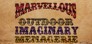 Marvellous Imaginary Menagerie – Outdoor